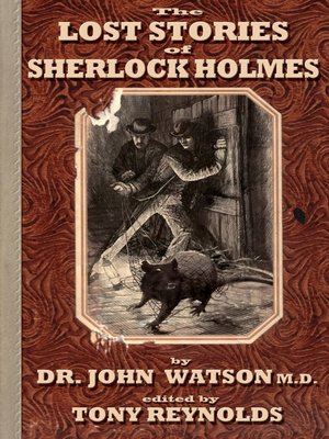 Click this cover for a(n) eBook sample of Lost Stories of Sherlock Holmes