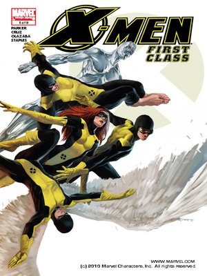Click this cover for a(n) eBook sample of X-Men: First Class, Issue 1.