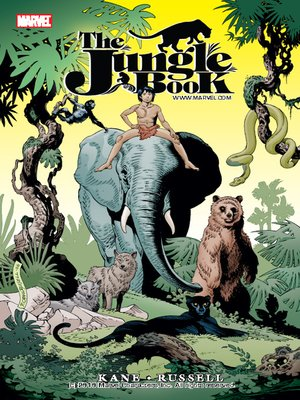 Click this cover for a(n) eBook sample of Marvel Illustrated: Jungle Book.