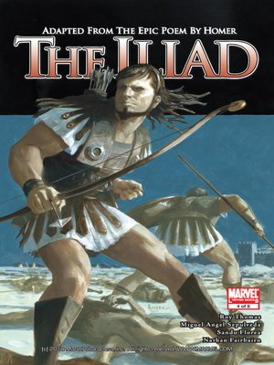Click this cover for a(n) eBook sample of Marvel Illustrated: The Iliad, Part 4.