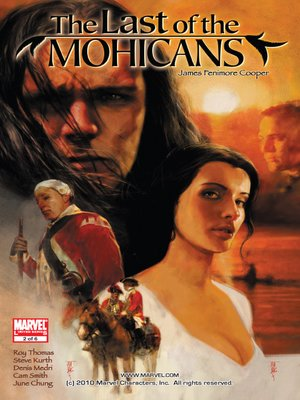 Cover of Marvel Illustrated: Last of the Mohicans, Part 2