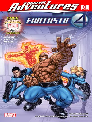 Click this cover for a(n) eBook sample of Marvel Adventures Fantastic Four, Issue 0