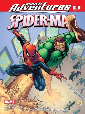 Click this cover for a(n) eBook sample of Marvel Adventures Spider-Man, Issue 6.