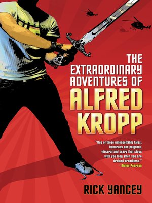 Click this cover for a(n) eBook sample of The Extraordinary Adventures of Alfred Kropp.