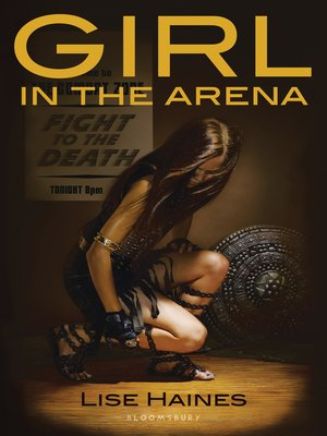 Click this cover for a(n) eBook sample of Girl in the Arena