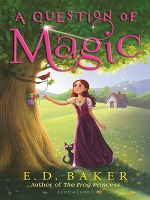 Click this cover for a(n) eBook sample of A Question of Magic.