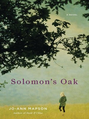 Click this cover for a(n) eBook sample of Solomon's Oak