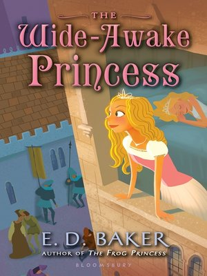 Click this cover for a(n) eBook sample of The Wide-Awake Princess.