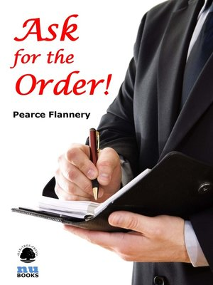 Click this cover for a(n) eBook sample of Ask for the Order!