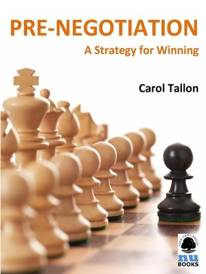 Click this cover for a(n) eBook sample of Pre-Negotiation