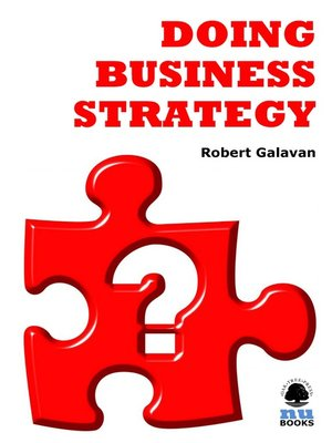 Click this cover for a(n) eBook sample of Doing Business Strategy.