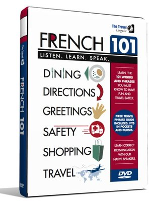 Click this cover for a(n) Video sample of French 101