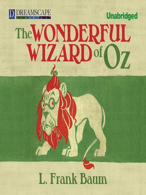 Click this cover for a(n) Audiobook sample of The Wonderful Wizard of Oz.
