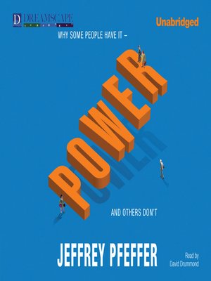 Click this cover for a(n) Audiobook sample of Power.