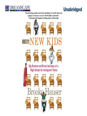 Click this cover for a(n) Audiobook sample of The New Kids.