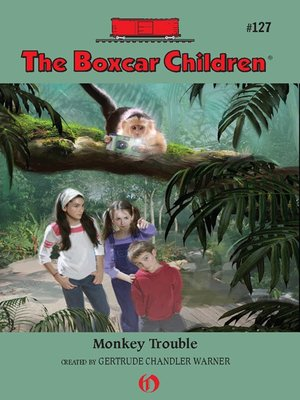 Click this cover for a(n) eBook sample of Monkey Trouble.