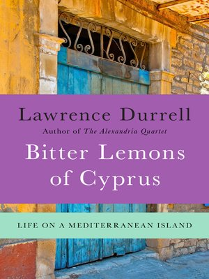 Click this cover for a(n) eBook sample of Bitter Lemons of Cyprus