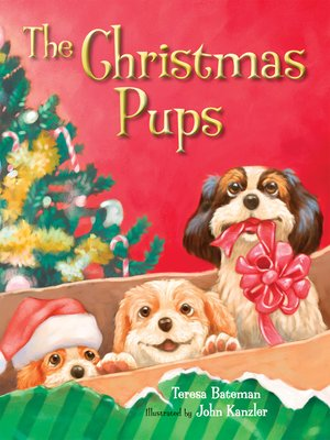 Click this cover for a(n) eBook sample of Christmas Pups.