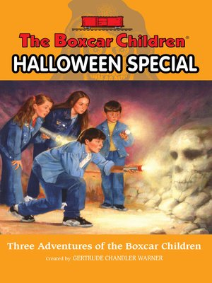 Click this cover for a(n) eBook sample of The Boxcar Children Halloween Special