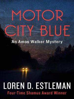 Click this cover for a(n) eBook sample of Motor City Blue