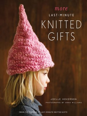 Click this cover for a(n) eBook sample of More Last-Minute Knitted Gifts