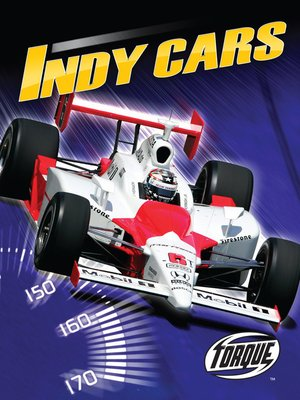 Click this cover for a(n) eBook sample of Indy Cars