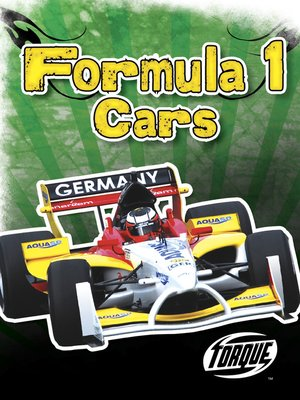 Cover of Formula 1 Cars
