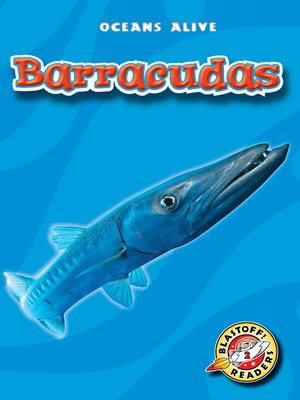 Click this cover for a(n) eBook sample of Barracudas