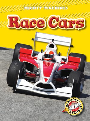 Click this cover for a(n) eBook sample of Race Cars