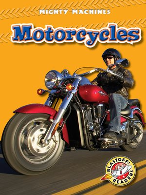 Click this cover for a(n) eBook sample of Motorcycles.