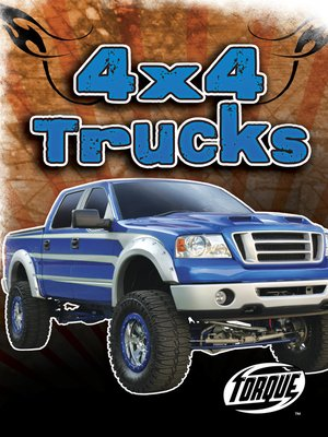 Click this cover for a(n) eBook sample of 4x4 Trucks