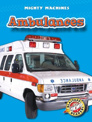 Click this cover for a(n) eBook sample of Ambulances