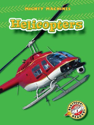 Click this cover for a(n) eBook sample of Helicopters