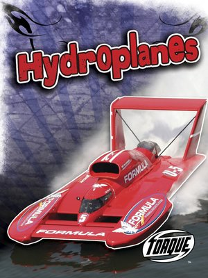 Click this cover for a(n) eBook sample of Hydroplanes