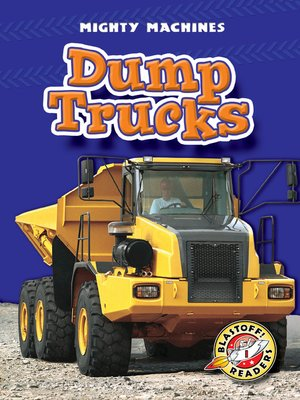 Click this cover for a(n) eBook sample of Dump Trucks