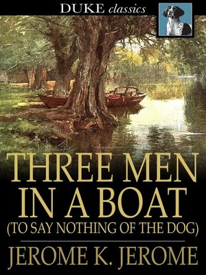 Click this cover for a(n) eBook sample of Three Men in a Boat: (To Say Nothing of the Dog).