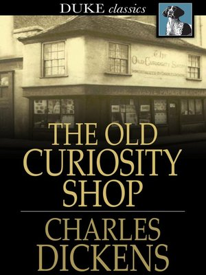 Click this cover for a(n) eBook sample of The Old Curiosity Shop