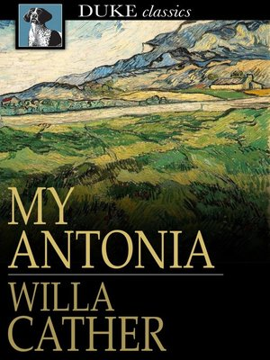 Click this cover for a(n) eBook sample of My Antonia.