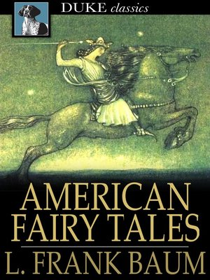 Click this cover for a(n) eBook sample of American Fairy Tales