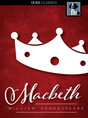 Click this cover for a(n) eBook sample of Macbeth.