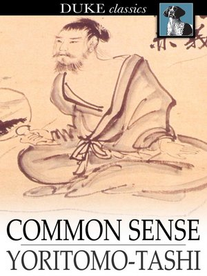 Cover of Common Sense
