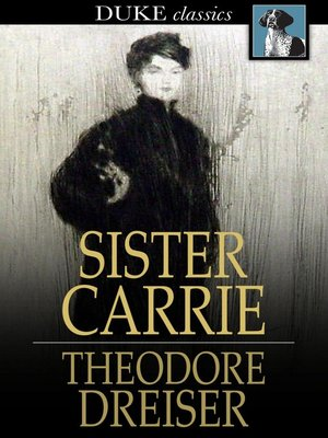 Click this cover for a(n) eBook sample of Sister Carrie.