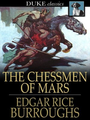 Click this cover for a(n) eBook sample of The Chessmen of Mars.
