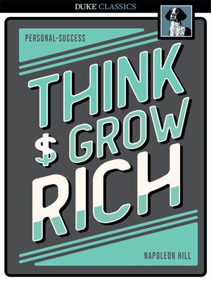 Click this cover for a(n) eBook sample of Think and Grow Rich.