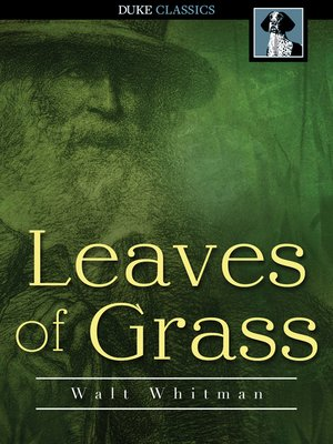 Click this cover for a(n) eBook sample of Leaves of Grass.