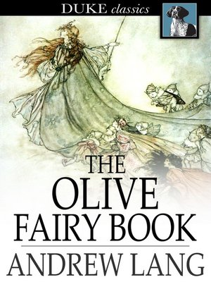 Click this cover for a(n) eBook sample of The Olive Fairy Book