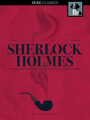 Click this cover for a(n) eBook sample of The Adventures of Sherlock Holmes