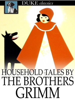 Click this cover for a(n) eBook sample of Household Tales by the Brothers Grimm