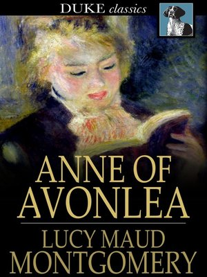 Click this cover for a(n) eBook sample of Anne of Avonlea.