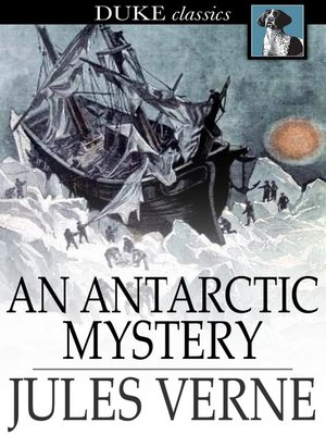 Click this cover for a(n) eBook sample of An Antarctic Mystery